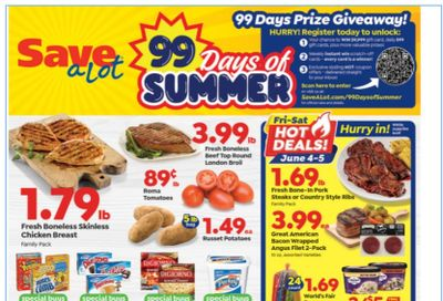 Save a Lot Weekly Ad Flyer June 2 to June 8