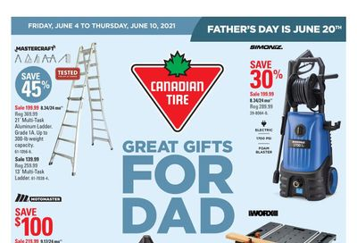 Canadian Tire (Atlantic) Flyer June 4 to 10