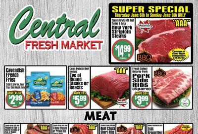 Central Fresh Market Flyer June 3 to 10