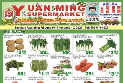Yuan Ming Supermarket Flyer June 4 to 10
