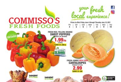 Commisso's Fresh Foods Flyer June 4 to 10