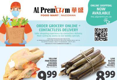Al Premium Food Mart (McCowan) Flyer June 3 to 9