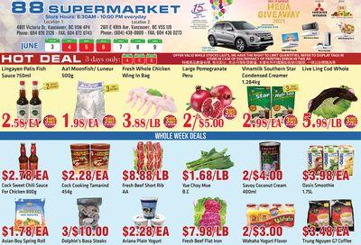 88 Supermarket Flyer June 3 to 9