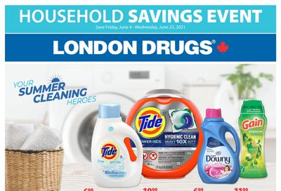 London Drugs Household Savings Event June 4 to 23