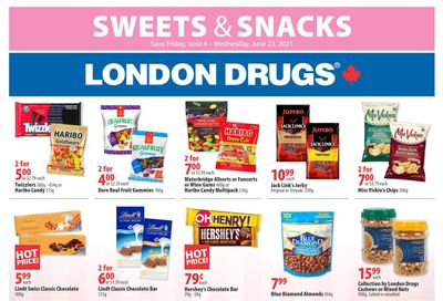 London Drugs Sweets & Snacks Flyer June 4 to 23