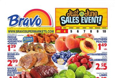 Bravo Supermarkets (CT, FL, MA, NJ, NY, PA) Weekly Ad Flyer June 4 to June 10