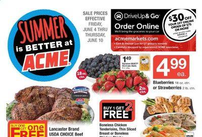 ACME (DE, NJ, NY, PA) Weekly Ad Flyer June 4 to June 10