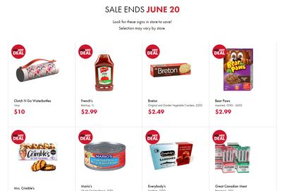 The Bargain Shop & Red Apple Stores Red Hot and Multi Deals June 3 to 20