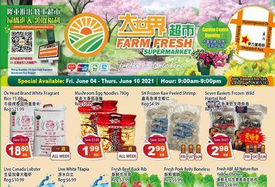 Farm Fresh Supermarket Flyer June 4 to 10