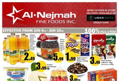 Alnejmah Fine Foods Inc. Flyer June 4 to 10