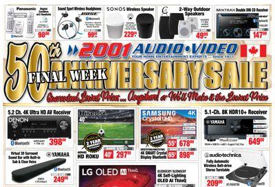 2001 Audio Video Flyer June 4 to 10