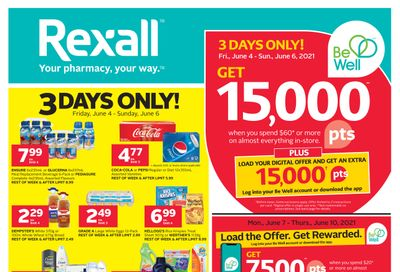 Rexall (West) Flyer June 4 to 10