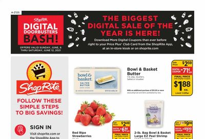 ShopRite (CT, DE, MD, NJ, NY, PA) Weekly Ad Flyer June 6 to June 12
