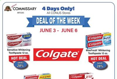 Commissary Weekly Ad Flyer June 3 to June 7