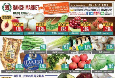 99 Ranch Market (CA) Weekly Ad Flyer June 4 to June 10