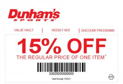 Dunham's Sports Weekly Ad Flyer June 3 to July 22