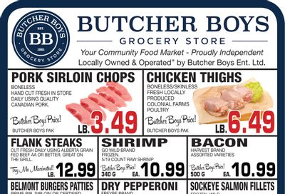 Butcher Boys Grocery Store Flyer June 4 to 10