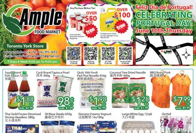 Ample Food Market (North York) Flyer June 4 to 10