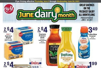 Big Y (CT, MA) Weekly Ad Flyer June 3 to June 30