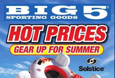 Big 5 (AZ, CA, CO, ID, NM, OR, UT, WA) Weekly Ad Flyer June 6 to June 12