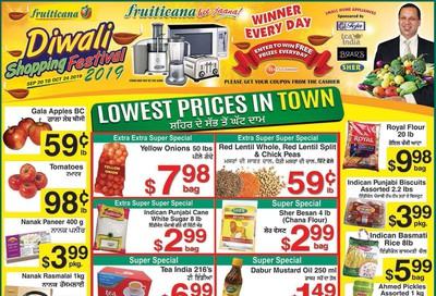 Fruiticana (BC) Flyer October 18 to 23
