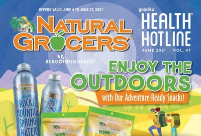 Natural Grocers Weekly Ad Flyer June 4 to June 27