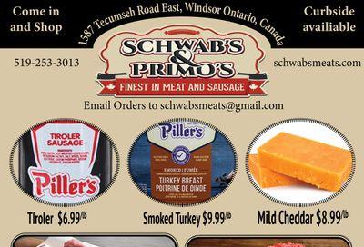 Schwab's & Primo's Flyer June 8 to 12