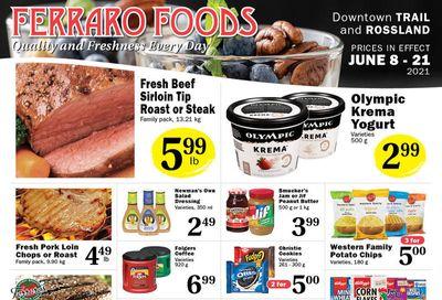 Ferraro Foods Flyer June 8 to 21