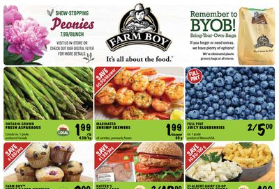 Farm Boy (Brantford, Burlington, Cambridge, Cornwall, Hamilton, Kingston, Kitchener, London, Newmarket, Oakville, Ottawa, Pickering, St. Catharines, and Whitby) Flyer June 10 to 16
