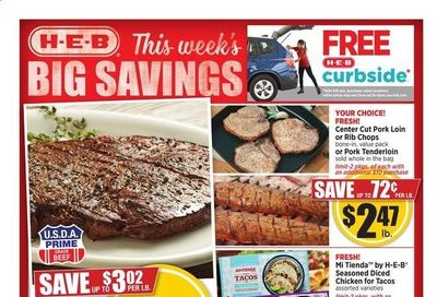 H-E-B Weekly Ad Flyer June 9 to June 15