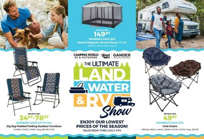 Camping World Weekly Ad Flyer June 8 to July 4