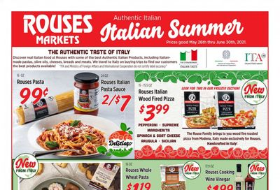 Rouses Markets (AL, LA, MS) Weekly Ad Flyer May 26 to June 30