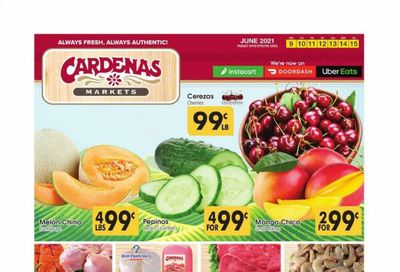Cardenas (CA, NV) Weekly Ad Flyer June 9 to June 15