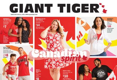 Giant Tiger Canadian Spirit Flyer June 9 to 22