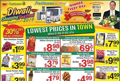 Fruiticana (Calgary) Flyer October 18 to 23