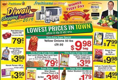 Fruiticana (Edmonton) Flyer October 18 to 23