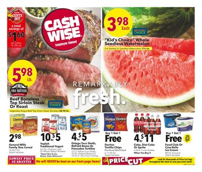 Cash Wise (MN, ND) Weekly Ad Flyer June 9 to June 15