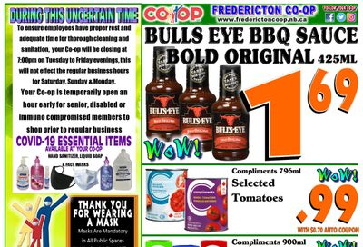 Fredericton Co-op Flyer June 10 to 16