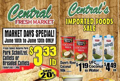 Central Fresh Market Flyer June 10 to 17