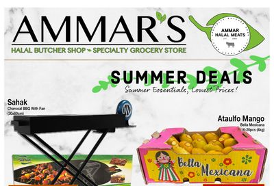 Ammar's Halal Meats Flyer June 10 to 16