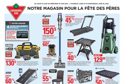 Canadian Tire (QC) Flyer June 10 to 16
