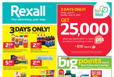 Rexall (West) Flyer June 11 to 17