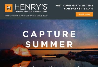 Henry's Flyer June 11 to 24