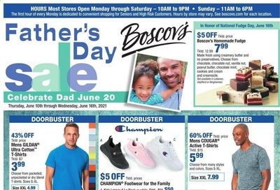 Boscov's (CT, DE, MD, NJ, NY, PA) Weekly Ad Flyer June 10 to June 16