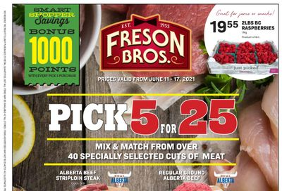 Freson Bros. Flyer June 11 to 17
