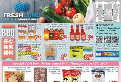 FreshLand Supermarket Flyer June 11 to 17