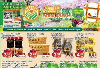 Farm Fresh Supermarket Flyer June 11 to 17