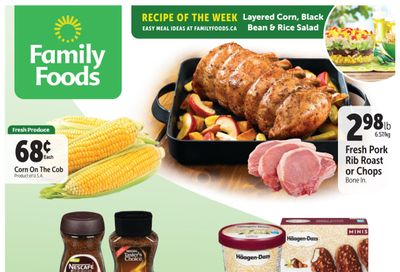 Family Foods Flyer June 11 to 17