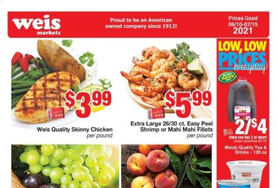 Weis (MD, NY, PA) Weekly Ad Flyer June 10 to July 15