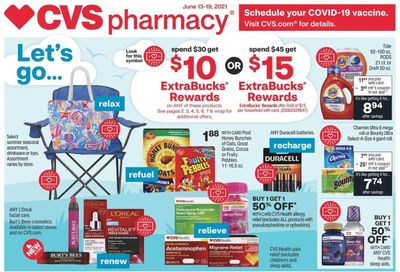 CVS Pharmacy Weekly Ad Flyer June 13 to June 19